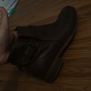 Brown J Crew booties!